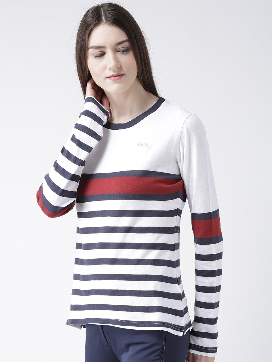 Women Full Sleeve Casual Cotton Sweater - Jump USA