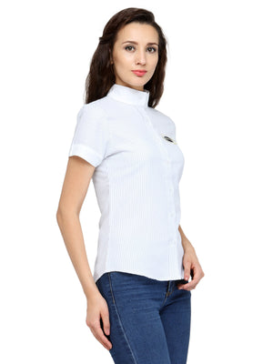 Women's Short Sleeve Shirt - Jump USA