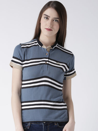Women Cotton Short Sleeves Polo T-Shirt - JUMP USA