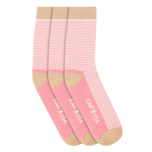 JUMP USA Women Pack of 3 Calf length Socks - Jump USA