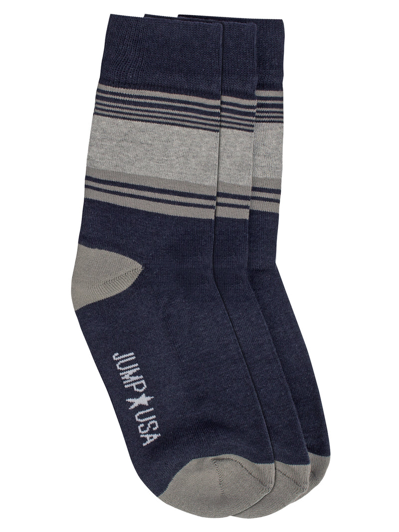 Men Pack of 3 Above Ankle Length socks - JUMP USA