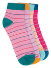 Women Pack of 4 Ankle length Socks - JUMP USA