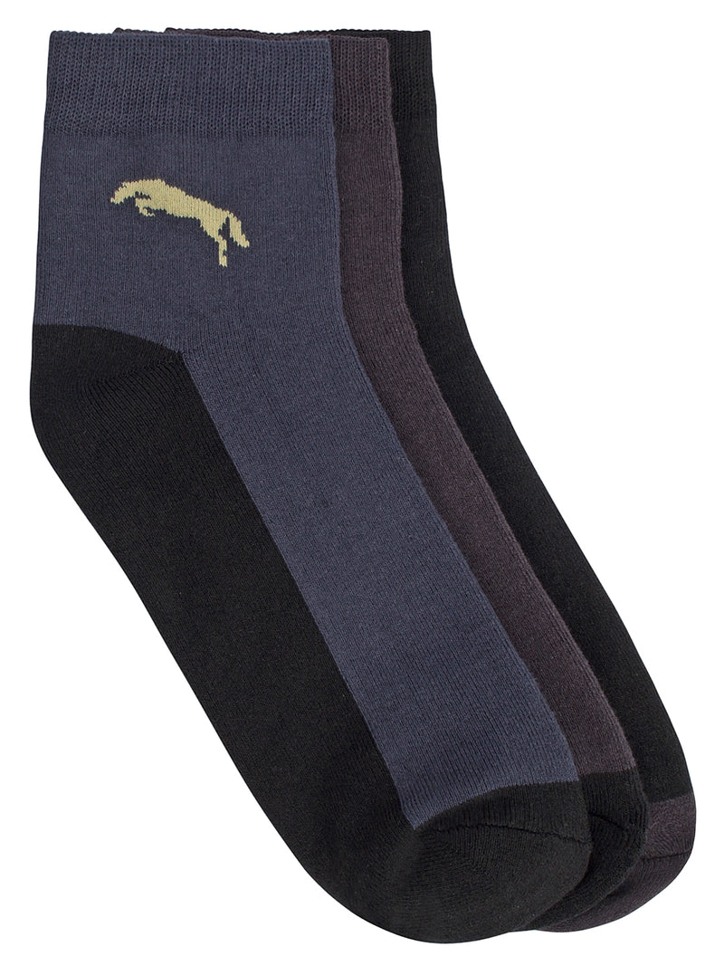 Men Pack of 3 Ankle length socks