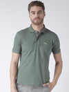 Men Plain Short Sleeve Polo T-Shirt - JUMP USA