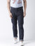 Men Navy Blue Slim Fit Mid-Rise Clean Look Jeans