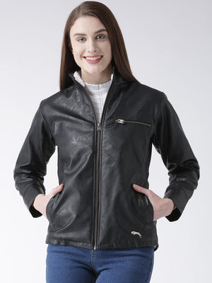 Women Long Sleeved Casual Jacket