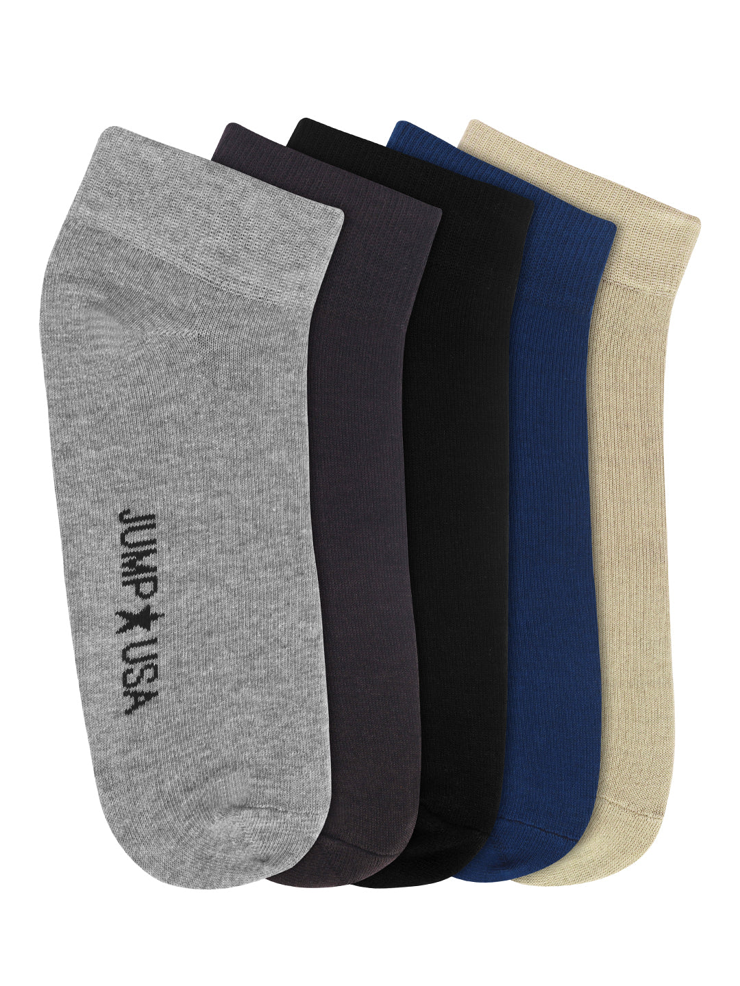Women Pack of 5 Above Ankle Length Socks