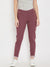 Women Casual Maroon Tights