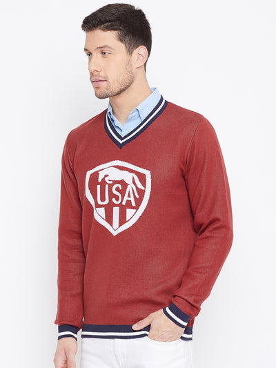 Men Regular Fit Cotton Casual Lightweight Sweater - JUMP USA