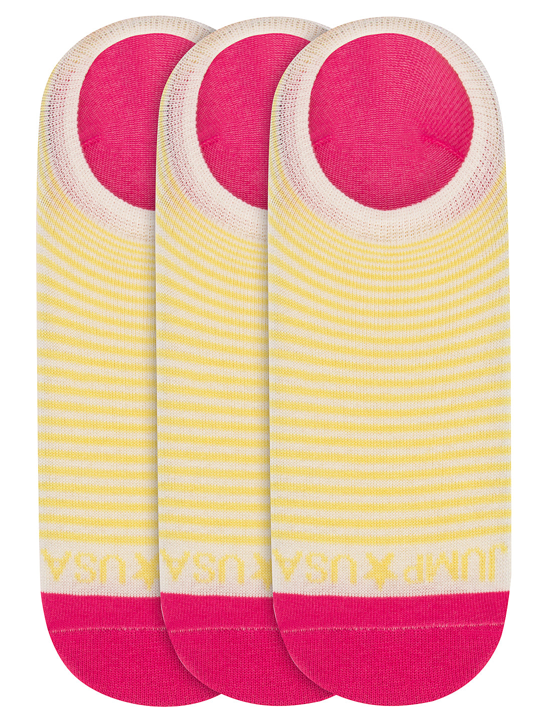 Women Pack of 3 Solid Shoeliners Socks