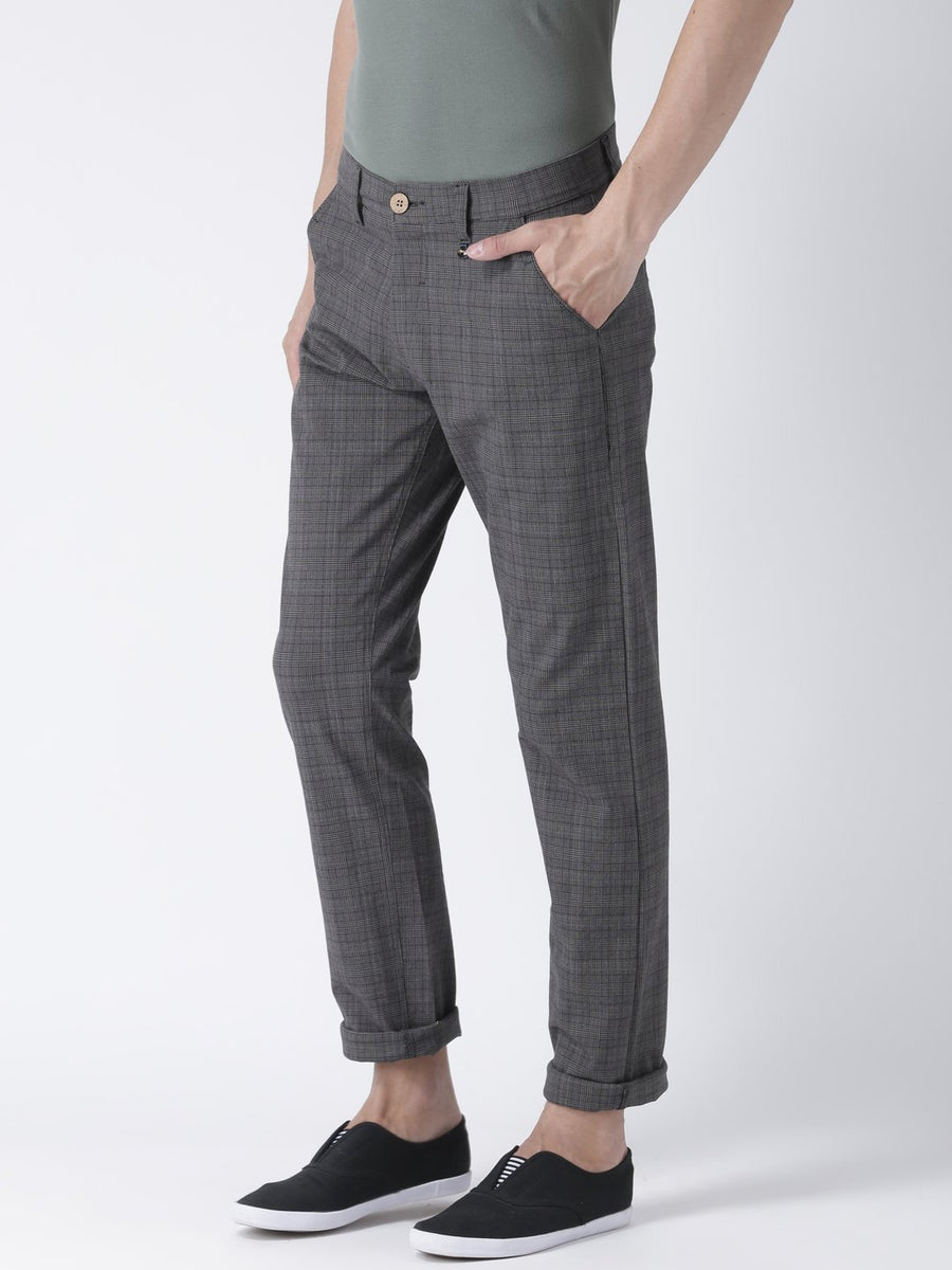 Men's Relax Fit 4 Way Stretch Casual Blackwatch Pant