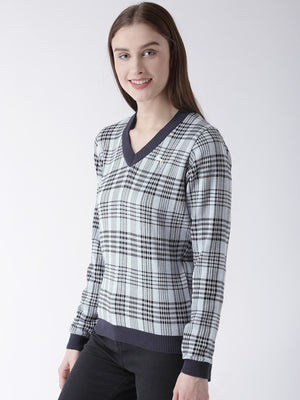 Women Cotton Full Sleeves Casual Sweater - Jump USA
