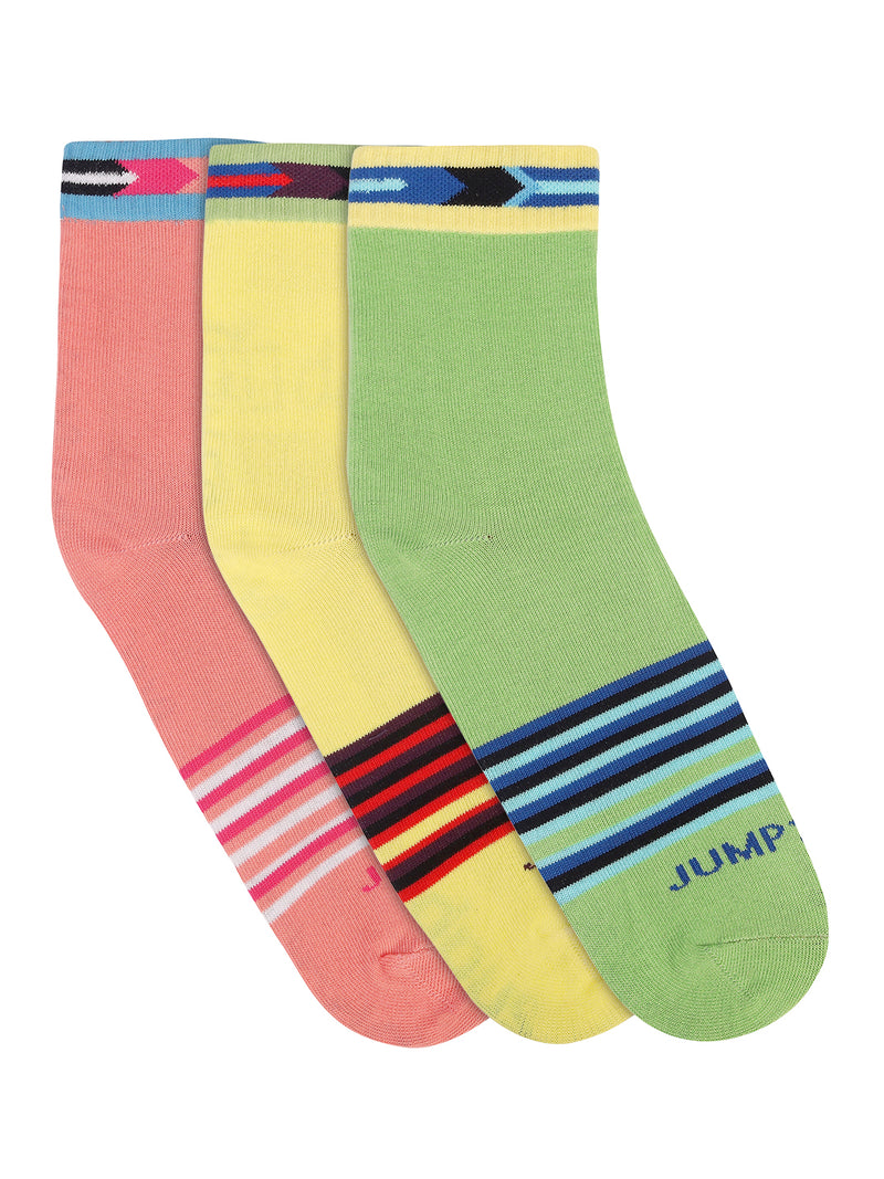Women Pack of 3 Ankle Length Socks