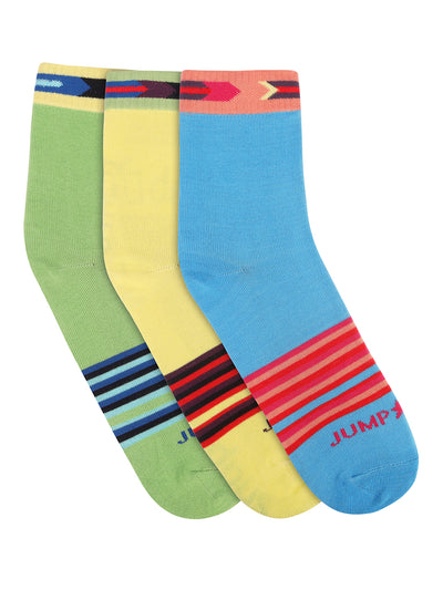 Women Pack of 3 Ankle Length Socks - JUMP USA