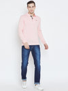 JUMP USA Men Pink Casual Sweaters_6