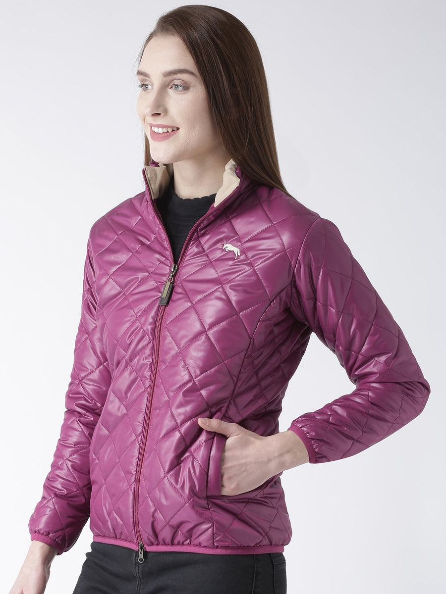 Women Full Sleeves Puffer Jacket - Jump USA