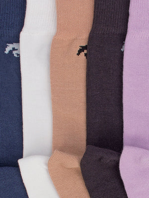 Men Pack of 5 Calf length socks