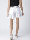 Women White Shorts - JUMP USA