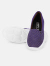 JUMP USA Women's Textured Purple Smart Casual Sneakers Shoes - JUMP USA