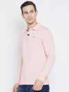 JUMP USA Men Pink Casual Sweaters_2