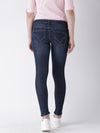 Women Blue Skinny Fit Mid-Rise Clean Look Jeans - JUMP USA