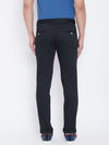 JUMP USA Men Navy Blue Regular Fit Solid Trousers - JUMP USA