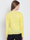 Women Yellow Casual Sweaters - JUMP USA