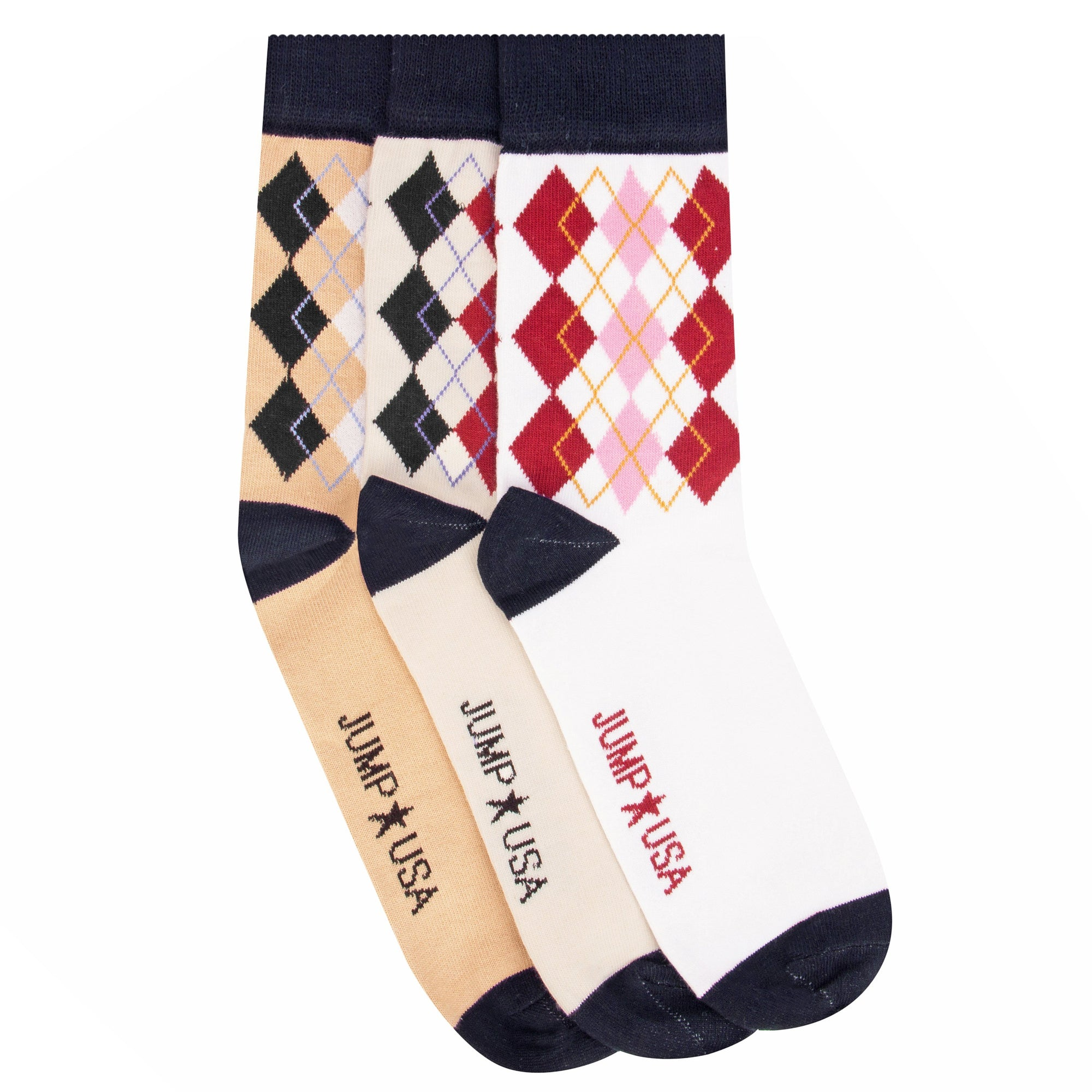Men Pack of 3 Calf Length socks