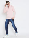 JUMP USA Men Pink Casual Sweaters_4