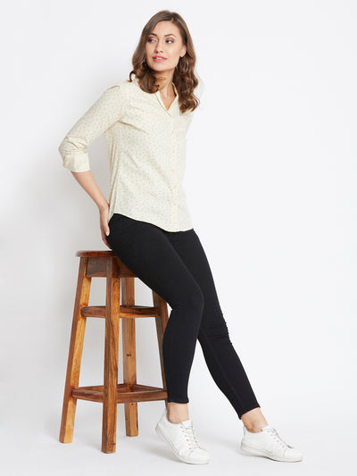 JUMP USA Women Regular Fit Butter Casual Shirt - JUMP USA