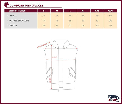 Men Half Sleeve Polyester Jacket - JUMP USA