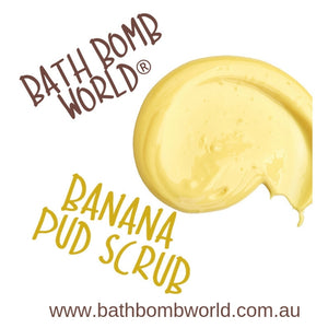 Bath Bomb World® Banana Pud Scrub Recipe