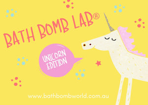 Bath Bomb World® Lab Kit Unicorn Edition