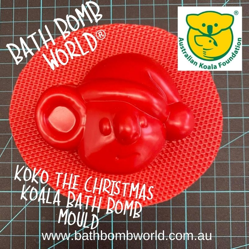 Bath Bomb World® KoKo The Christmas Koala Bath Bomb Mould