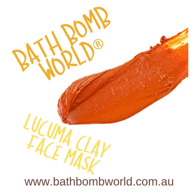 Bath Bomb World® Lucuma Clay Face Mask Recipe