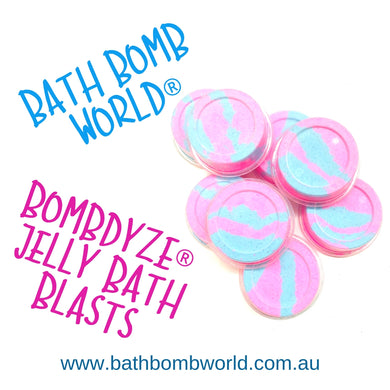 Bath Bomb World® Bombdyze® Jelly Bath Blasts Recipe