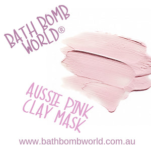 Bath Bomb World® Aussie Pink Clay Mask Recipe