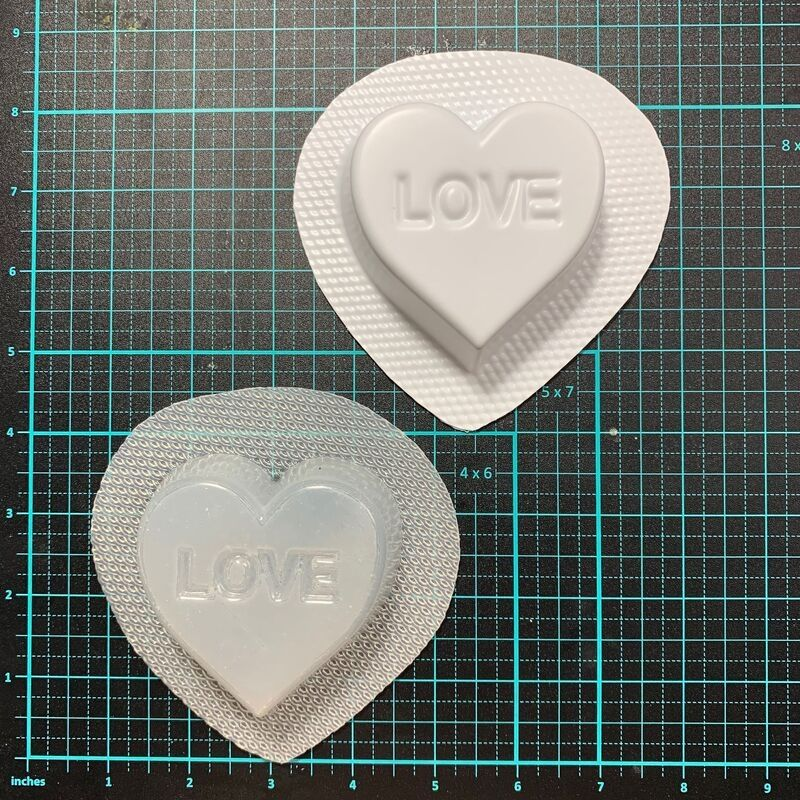 Bath Bomb World® Love Heart™ Bath Bomb Mould