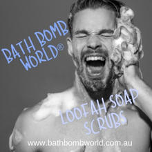 Bath Bomb World® Loofah Soap Scrubs