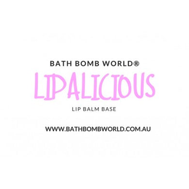 Bath Bomb World® Lipalicious Lip Balm Base