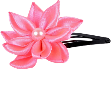 Flower barrette handmade hair clip hair hair jewelry