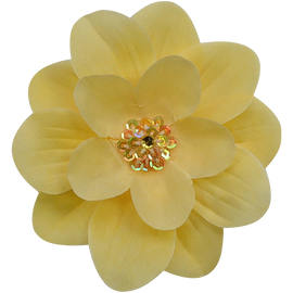 Funny girl designs women's claribel flower hair clip