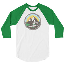 Hillseeker® Mountain Bike 3/4 sleeve raglan shirt