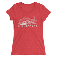 Hillseeker® Cyclist MTB Mountains Sketch Ladies' short sleeve t-shirt