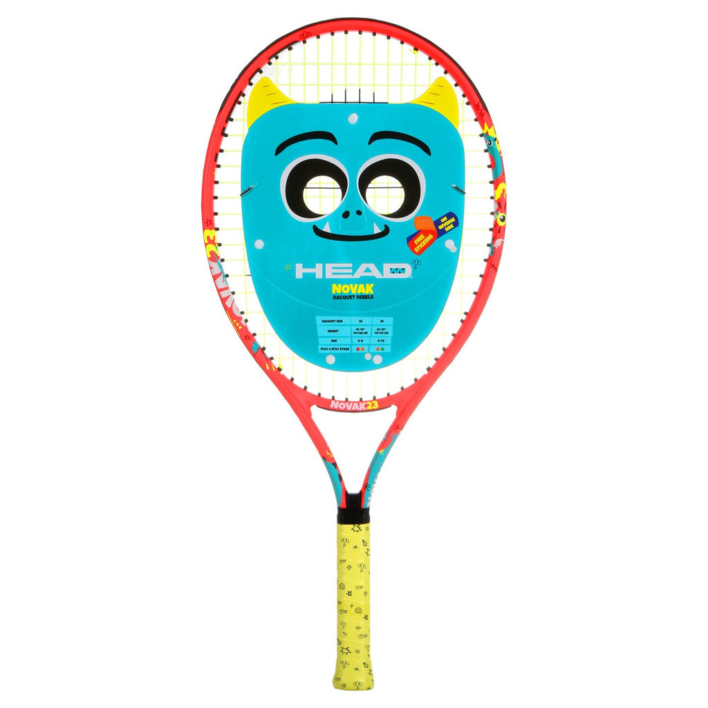 Novak Junior Aluminium Tennis Racquet