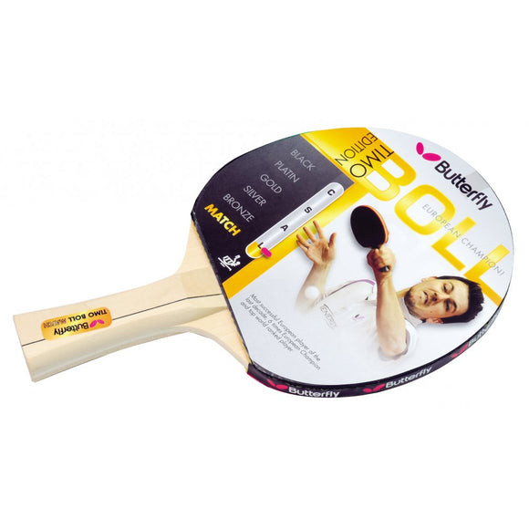 Timo Boll Match Table Tennis Bat