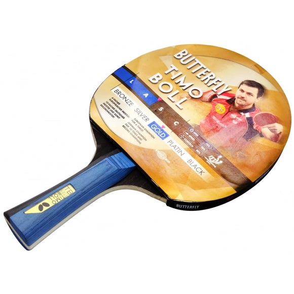 Timo Boll Gold Table Tennis Bat