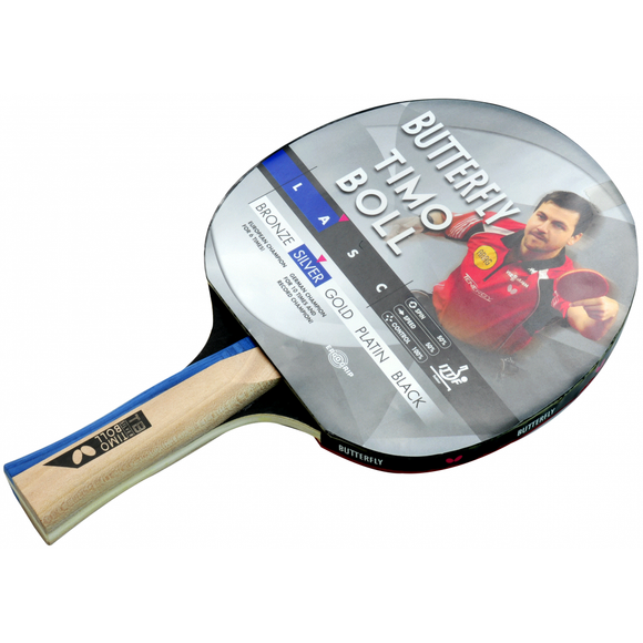 Timo Boll Silver Table Tennis Bat