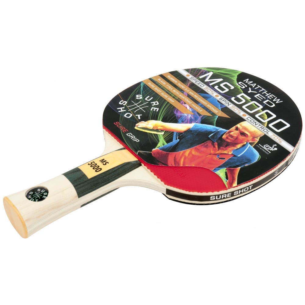 Matthew Syed 5000 Table Tennis Bat