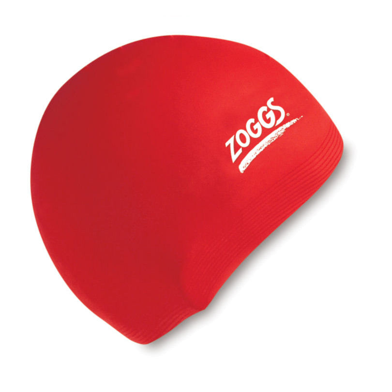 Silicone Swim Cap Red